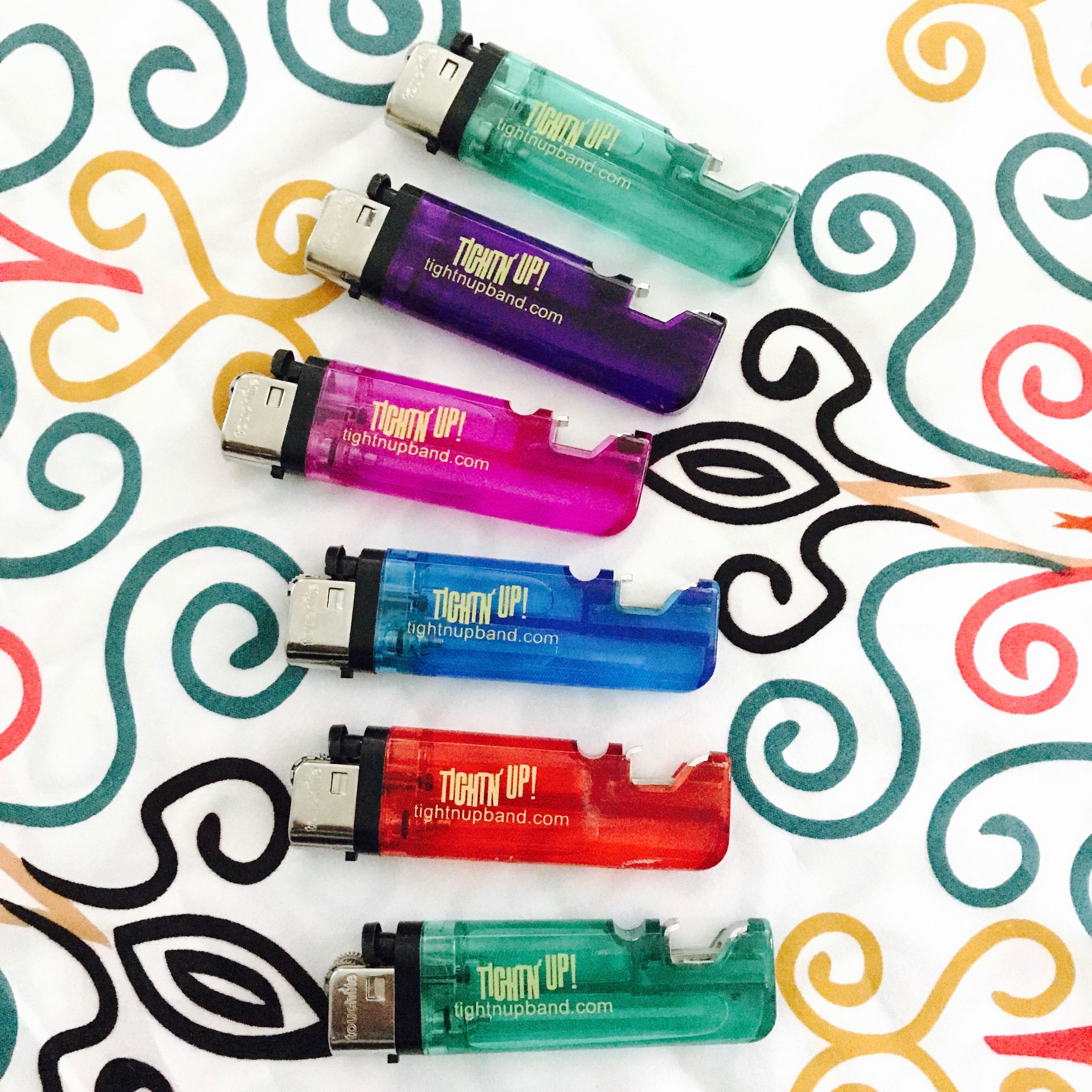tightn up lighter with bottle opener funk drink up light up