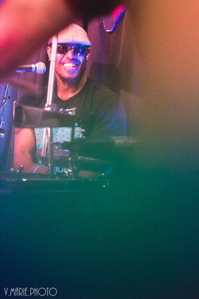 mikol smile double percussion tightn up funk band house of blues local brews local grooves houston texas