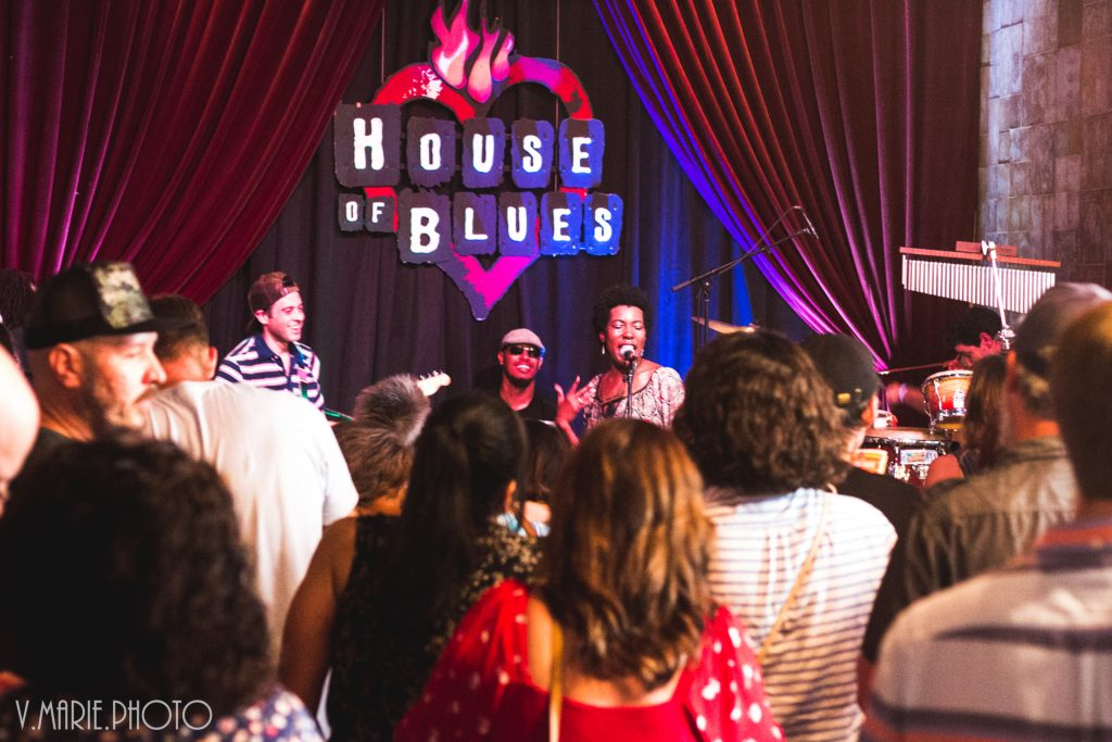 tightn up funk band house of blues local brews local grooves houston texas